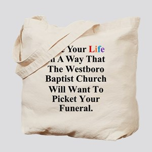 Westboro Baptist Church Tote Bag