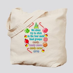 Elf Candy Tote Bag