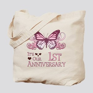 1st Wedding Aniversary (Butterfly) Tote Bag