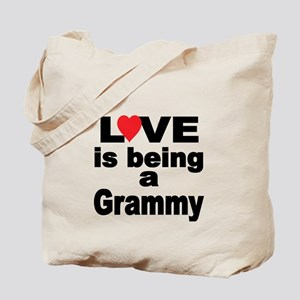 Love is being a Grammy Tote Bag