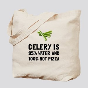 Celery Not Pizza Tote Bag