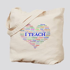 Big Hearted Teacher Tote Bag