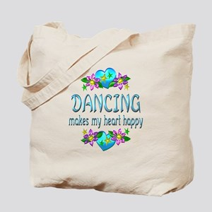 Dancing Heart Happy Tote Bag