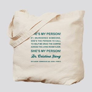 SHE'S MY PERSON Tote Bag