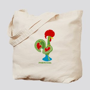 Traditional Portuguese Rooster Tote Bag