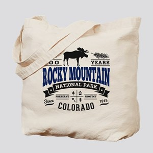 Rocky Mountain Vintage Tote Bag