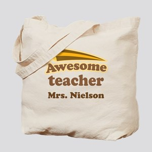 Awesome Teacher gift Tote Bag