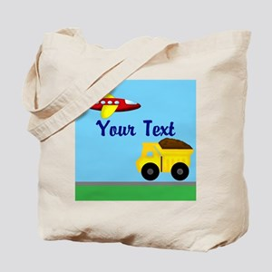 Trucks and Planes Tote Bag