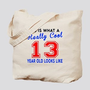 Really Cool 13 Birthday Designs Tote Bag
