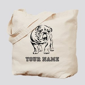 Bulldog (Custom) Tote Bag