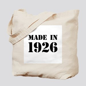 Made in 1926 Tote Bag