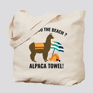Alpaca Towel Tote Bag