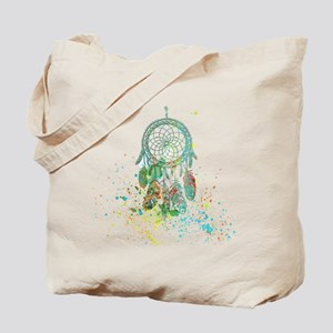 Dreamcatcher splatter Tote Bag