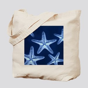 beach blue starfish Tote Bag