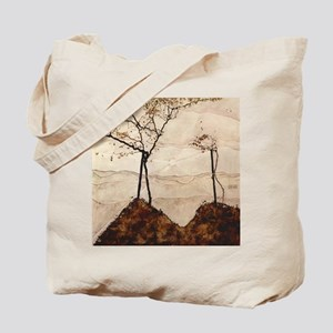 Autumn Sun and Trees by Egon Schiele Tote Bag