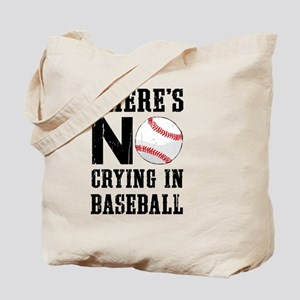 No Crying In Baseball Tote Bag