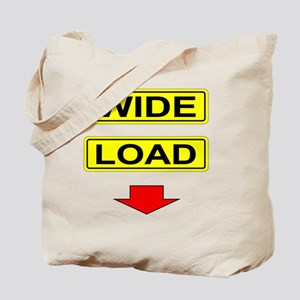 Wide-Load-T-Shirt-Light_vectorized Tote Bag