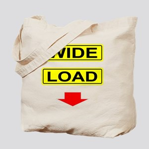 Wide-Load-T-Shirt-Dark_vectorized Tote Bag