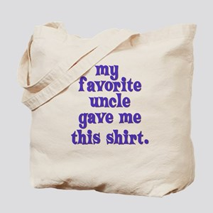 favorite-uncle Tote Bag