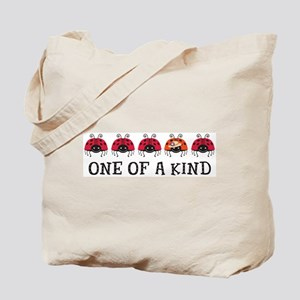 One of a Kind Ladybugs Tote Bag