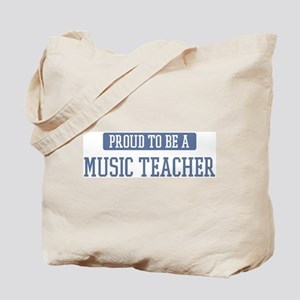 Proud to be a Music Teacher Tote Bag