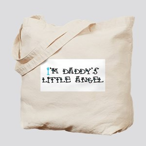 I'm Daddy's Little Angel Tote Bag