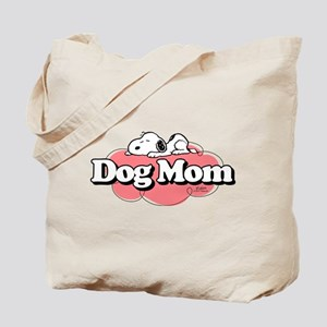 Snoopy Dog Mom Tote Bag