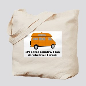 It's A Free Country I Can Do Tote Bag