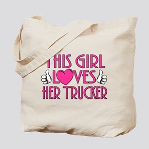 Loves Her Trucker Tote Bag