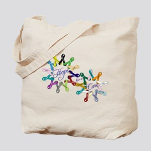 Hope For A Cure Tote Bag