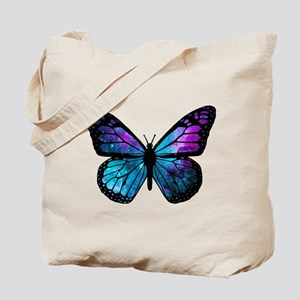 Galactic Butterfly Tote Bag