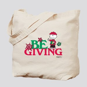 Charlie Brown: Be Giving Tote Bag