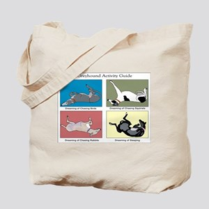 Greyhound Activity Guide Tote Bag