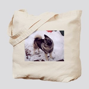 norwegian elkhound full 2 Tote Bag