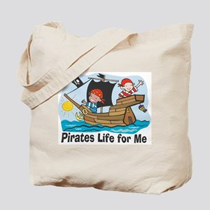 Pirates Life For Me Tote Bag