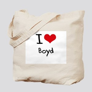 I Love Boyd Tote Bag