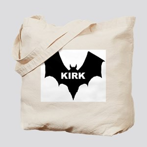 BLACK BAT KIRK Tote Bag