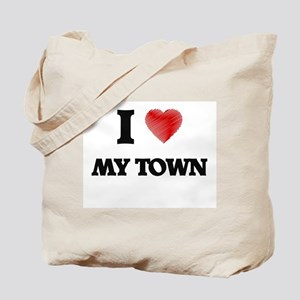 I love My Town Tote Bag
