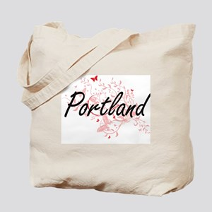 Portland Oregon City Artistic design with Tote Bag