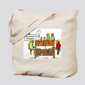 The Parrot's Workshop Logo Tote Bag