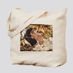 Egon Schiele Death And The Woman Tote Bag