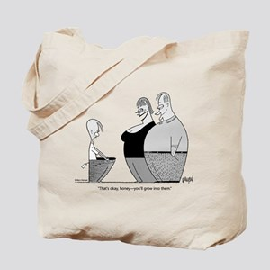 Growing Boy Tote Bag