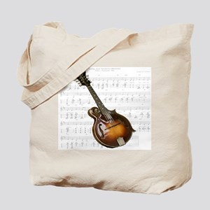 Mandolin and Sweet Music Tote Bag