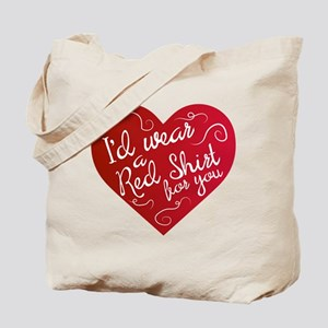 Red Shirt for You Tote Bag
