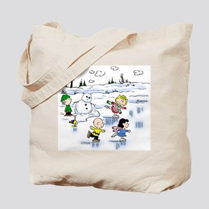 Snow Scene Tote Bag