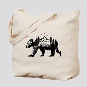 Bear Woods Tote Bag