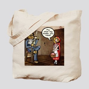 My, what big books you read! Tote Bag