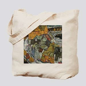 Island Town by Egon Schiele Tote Bag