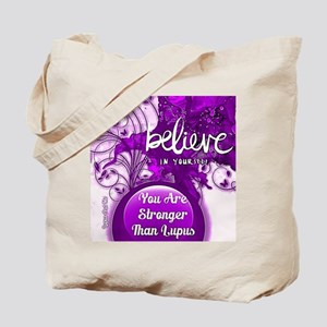 Stronger Than Lupus Tote Bag