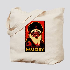 Pug Carrier Tote Bag